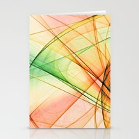 tequila Stationery Cards featuring tequila sunrise by Maureen Popdan