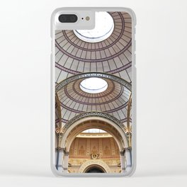 the gilded age Clear iPhone Case