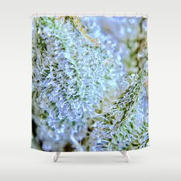 Blanket of Trichomes Shower Curtain