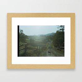 Patience. Framed Art Print