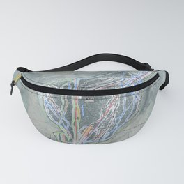 Waterville Valley Resort Trail Map Fanny Pack