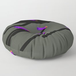 Nerf darts on the wall Floor Pillow