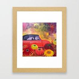 Lonnie's Bug Framed Art Print