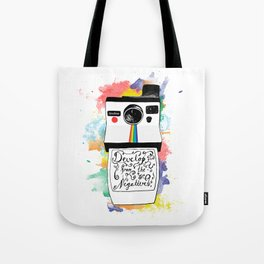 Develop From the Negatives Tote Bag