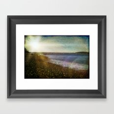Short Days Framed Art Print