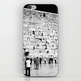 The Western Wall in the Old City, Jerusalem, Israel iPhone Skin