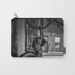 Black and White Bike Carry-All Pouch