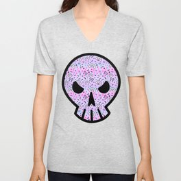 Cute Melting Pastel Chaos Unisex V-Neck