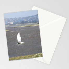 *Sailing into Launceston Tasmania* Stationery Cards