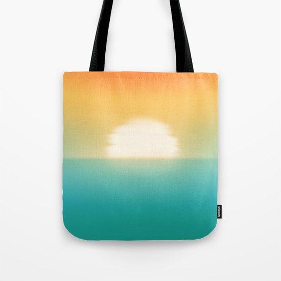 Into the horizon Tote Bag