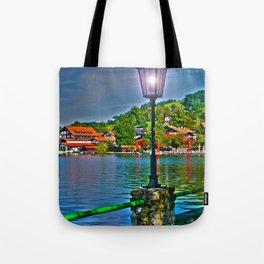 Lantern at the Lake Schliersee Tote Bag