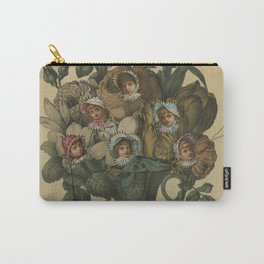Crooked Bouquet Carry-All Pouch