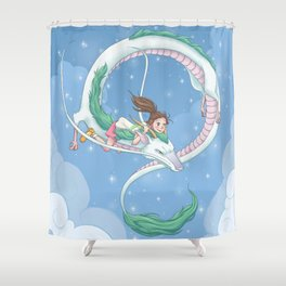 Soar Shower Curtain