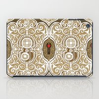 clockwork iPad Cases featuring Clockwork Valentine by Alex Morgan