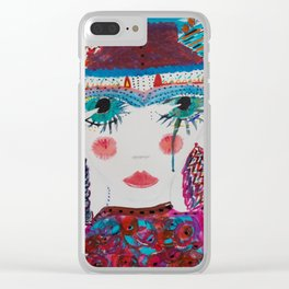 One ticket gypsy Clear iPhone Case