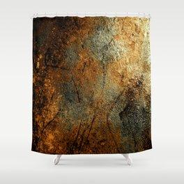 Rust Texture 69 Shower Curtain