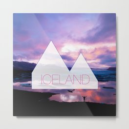 Reykjavik Boulevard #08 Metal Print