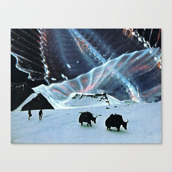 Behind The Stars Canvas Print