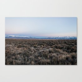 Deeth-Starr Valley -  Nevada/Utah, USA #2 Canvas Print