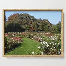 Rose Garden At Greenwich Park Serving Tray