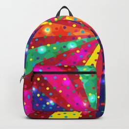 Colorful light Backpack