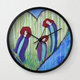Three Muses Wall Clock