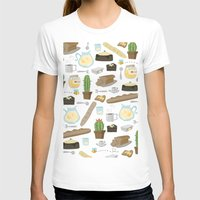 bread T-shirts featuring Bread by Ceren Aksu Dikenci