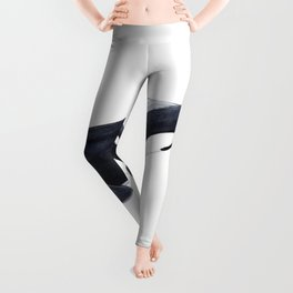 Orca killer whale Leggings