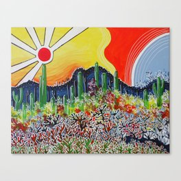 Nature's City Canvas Print