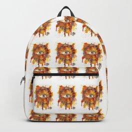 Eyes Series BROWN Backpack