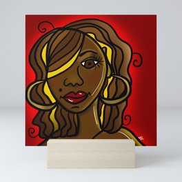 Determined Sista! Mini Art Print