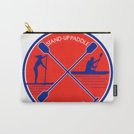 Stand-up Paddle and Kayak Circle Retro Carry-All Pouch