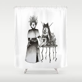 Victorian Set-up Shower Curtain
