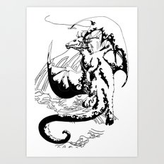 A Dragon from your Subconscious Mind #12 Art Print
