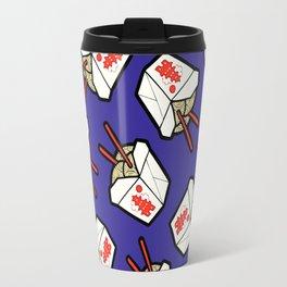 Take-Out Noodles Box Pattern Travel Mug