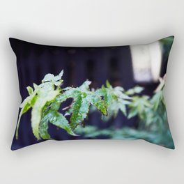 Japanese acer leafs. Rectangular Pillow