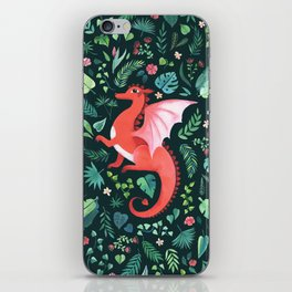 Tropical Dragon iPhone Skin