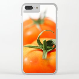 Two tomatoes Clear iPhone Case