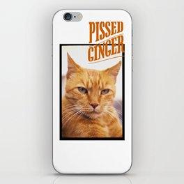 Pissed Ginger iPhone Skin