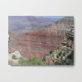 Grand Canyon shades of purple and red Metal Print