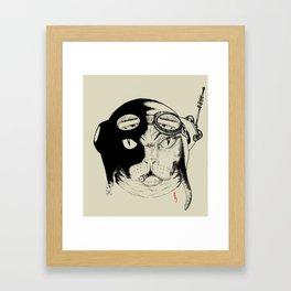 Wobble Ur, The Flyer Framed Art Print