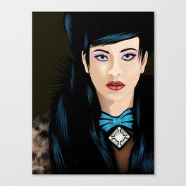 Dream Lady Canvas Print