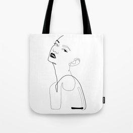 Flirty Eye Tote Bag