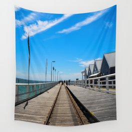 Busselton Jetty Wall Tapestry