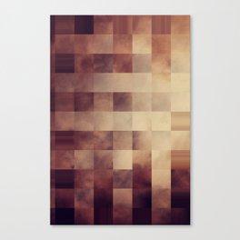 Checkered Earth  Canvas Print