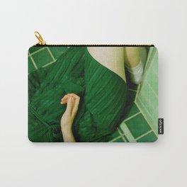 green bathroom (tara) Carry-All Pouch