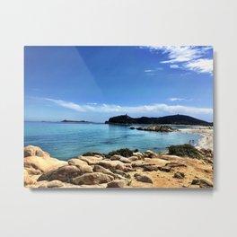 Sardinia Beach Metal Print