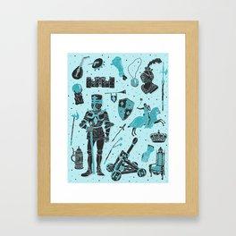 Knightly Tales Framed Art Print