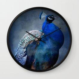 Peacock Blues Clues Wall Clock