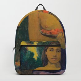 Paul Gauguin - Two Tahitian Women Backpack